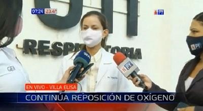 Complicada situación en Villa Elisa por escasez de oxígeno