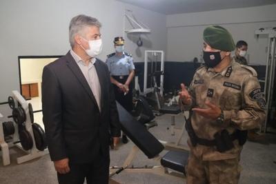 Ministro del Interior presidió apertura del Curso de Operaciones Especiales y habilitó mejoras
