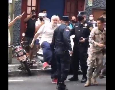"""Giuzzio: """"La Policía flojeó"""" en conflicto con Payo Cubas"""