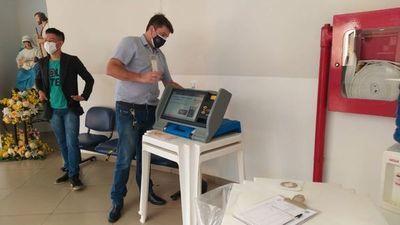 Habilitan maquina para Voto Electrónico en la Municipalidad