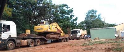 Marchan tareas previas a la construcción de los nuevos pabellones de contingencia