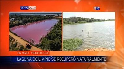 Laguna Cerro en Limpio se recupera naturalmente de la contaminación