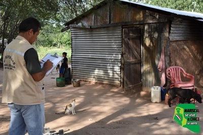 Realizan relevamiento de datos de 130 familias para construcción de viviendas en Jotoicha