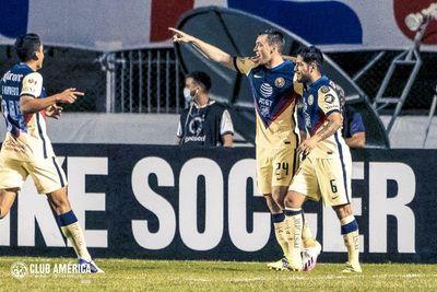"""El primer gol del """"chico"""" Díaz en el América"""