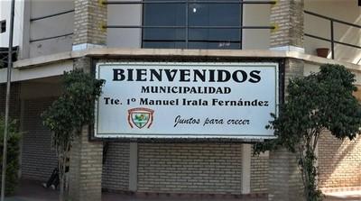 Irala Fernández se declara en emergencia sanitaria por Covid-19