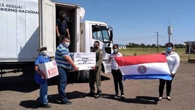 Hoy llegarán 20.000 dosis de las vacunas Sputnik V a Paraguay