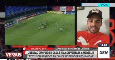 Javier Báez: su faceta goleadora, el objetivo copero y el nivel de Libertad
