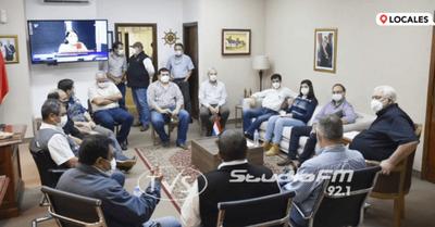 MINISTRO DEL MAG IMPULSA PROYECTOS PARA EL SECTOR YERBATERO