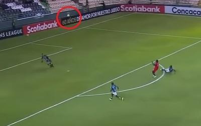 El increíble gol desde fuera del área, pero en contra