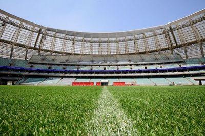Bakú permitirá un 50 % de aforo durante la Eurocopa