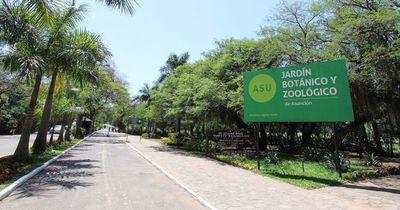 Instalarán una subcomisaria en el Jardín Botánico de Asunción