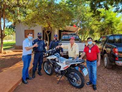 Distribuyen motocicletas a la Policía Nacional para reforzar controles