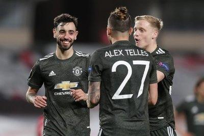 Manchester United cumplió con la 'lógica' y derrotó de visitante al Granada
