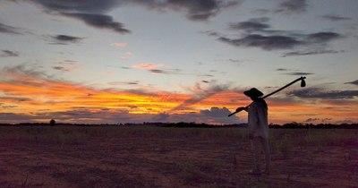 La Nación / Hermosa fotografía en San Pedro gana el concurso Atardecer 2021