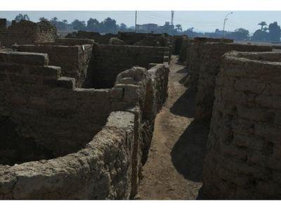 Se descubre la ciudad antigua más grande de Egipto