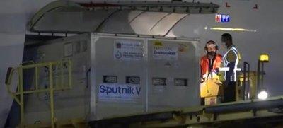 Arribaron otras 20.000 dosis de la Sputnik V al Paraguay