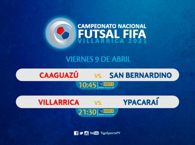 Dos partidazos encienden el Nacional de futsal FIFA