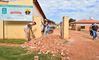 Iniciaron los trabajos de remodelación y ampliación en el Hospital de Caazapá