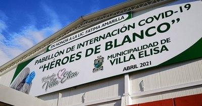 La Nación / Inauguran nuevo pabellón de contingencia en el Hospital Distrital de Villa Elisa