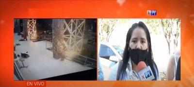 """Esposa de civil baleado y muerto durante asalto: """"Dispararon a un inocente"""""""