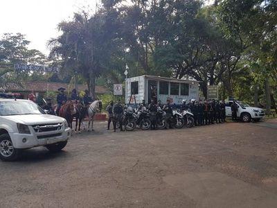 Policía instala comisaría móvil tras ola de inseguridad en el Botánico