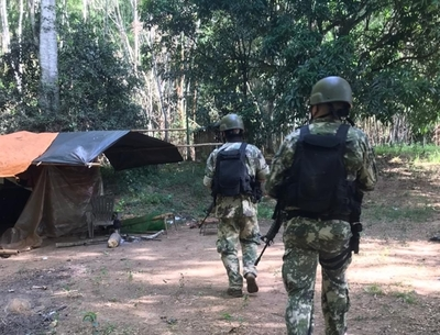 Destruyen campamentos clandestinos en el Acaray