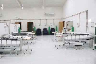 Inauguran nuevo pabellón de contingencia en el Hospital de Villa Elisa