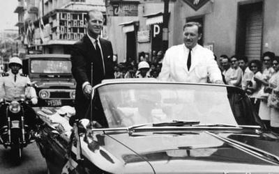 Recuerdan visita del príncipe Felipe a Paraguay