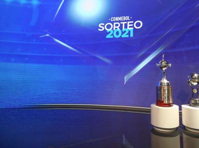 El mapa de la fase de grupos de la Libertadores y Sudamericana 2021