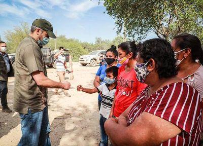 """""""Ya habrá tiempo para el itinerario electoral"""", dice Mario Abdo durante acto oficial en el Chaco"""
