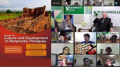 Realizan curso sobre cultura y desarrollo de Paraguay