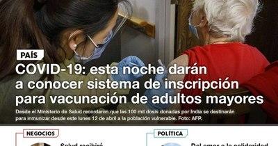 La Nación / LN PM: Las noticias más relevantes de la siesta del 9 de abril