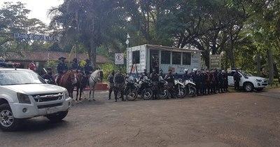 La Nación / Instalan comisaría móvil y cámaras de seguridad en el Jardín Botánico