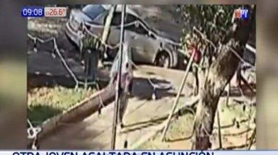 "Joven fue atacada por ""autoasaltantes"""