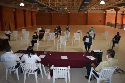 Consejo Local de salud Loma Plata realizó Asamblea General Anual Informativa