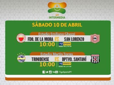 Dos partidos de Intermedia por la pantalla de Tigo Sports