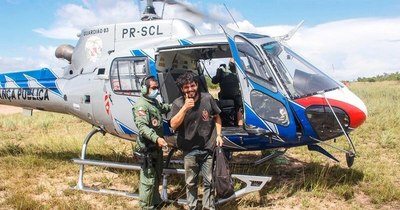 La Nación / Antonio Sena, el piloto que sobrevivió 38 días perdido en la Amazonía brasilera