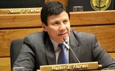 Harms ratifica que el Congreso apoya la compra de vacunas contra el COVID al costo que sea