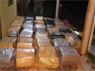 Senad incauta 605 kilos de marihuana en Pedro Juan Caballero