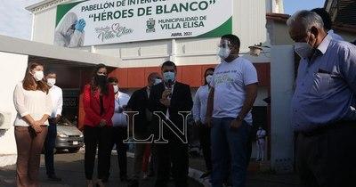 La Nación / Inauguran nuevo pabellón respiratorio en hospital distrital