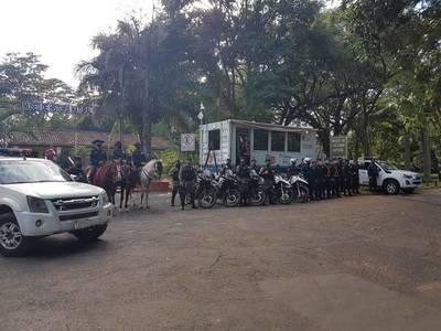 Instalan comisaría móvil y cámaras de seguridad en el Jardín Botánico