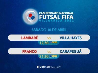 Arranca la segunda fecha del Nacional de Futsal FIFA