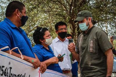 """""""El Chaco es la prioridad de este Gobierno"""", afirmó Abdo Benítez"""