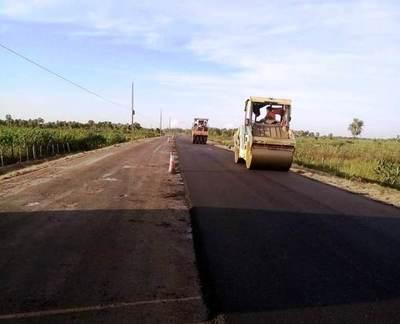 Para mayo anuncian la habilitación de la renovada ruta Pilar – General Díaz en Ñeembucú