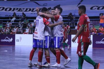 Festival de goles en la primera fecha del Nacional de Futsal FIFA