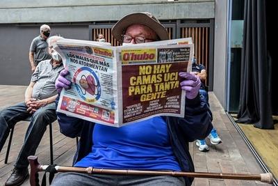 Bogotá inició un cierre total este fin de semana para reducir los contagios de coronavirus
