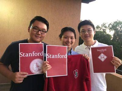 Tres hermanos paraguayos fueron admitidos en la Universidad de Stanford