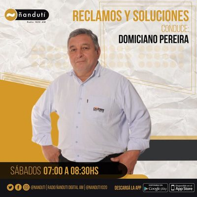 Reclamos y soluciones con Domiciano Pereira