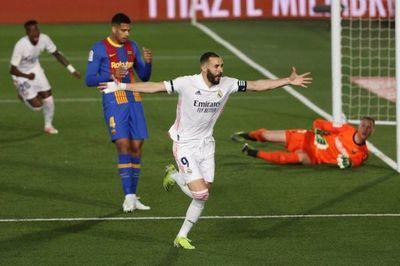 El Real Madrid gana el clásico y duerme líder