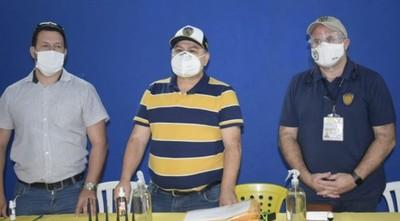 El volcán Sportivo Luqueño en  erupción: a partir de este domingo  tendrá 2 presidentes